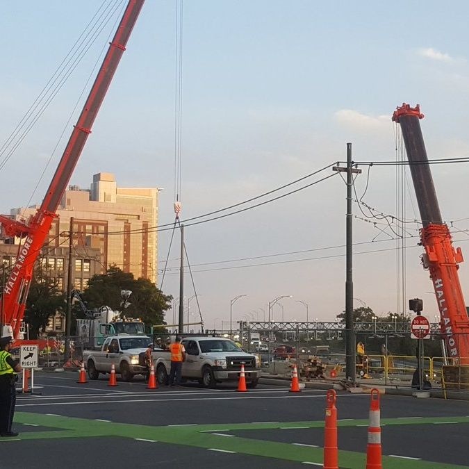 Section Of Comm Ave Bridge Gone As Replacement Continues