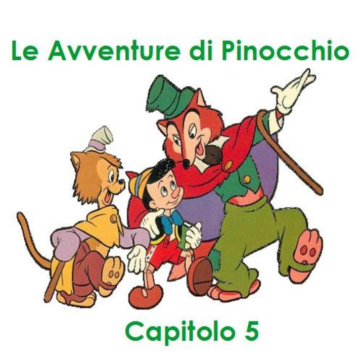 Le Avventure di Pinocchio - Capitolo 5