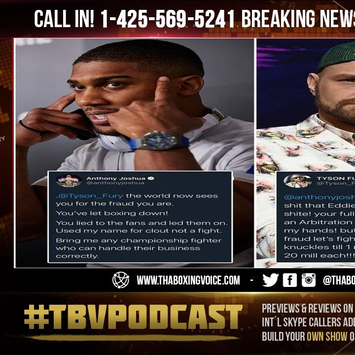 ☎️Joshua BLAMES Tyson Fury For FAILED Undisputed Fight Collapsing😱Fury Wants Bare Knuckle Fight🤷🏽♂️
