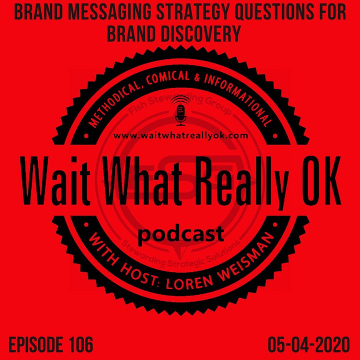 Brand Messaging Strategy Questions for Brand Discovery.