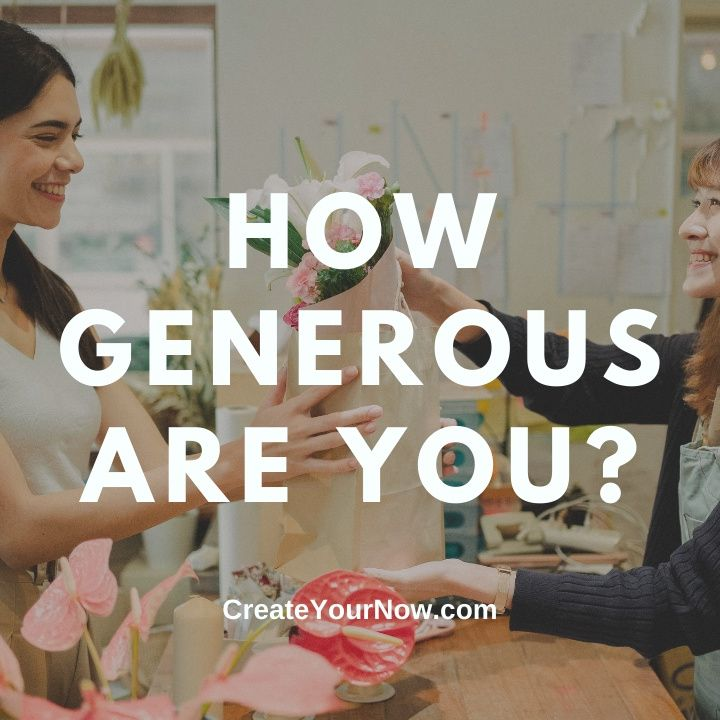 2432 How Generous Are You?