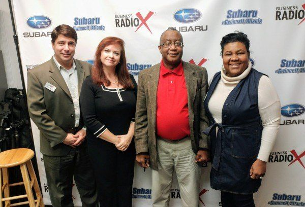 OPEN FOR BUSINESS: Ana Soler with SeSo Inc. and Peter James & Judine Lynch with Certified Home Care of Georgia