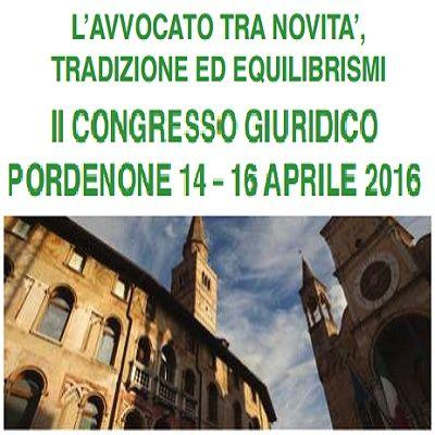 Congresso Giuridico Pordenone 2016