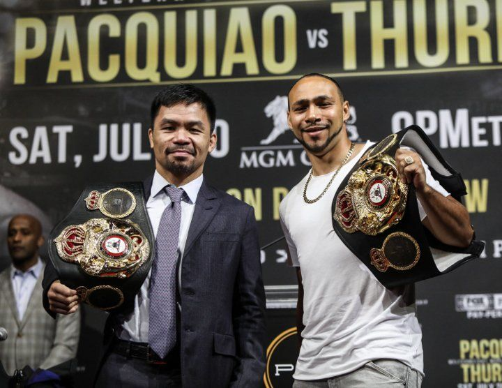 Inside Boxing Daily: No VADA for Thurman-Pacquiao, Usyk is Hearn's insurance policy, and Muhammad Ali vs. Joe Louis