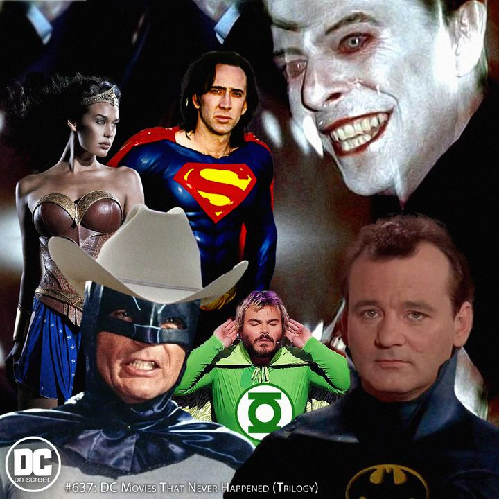 DC Movies That Never Happened Trilogy   Remastered Repost