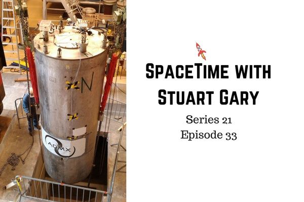 33: The most sensitive ever Dark Matter search gets underway - SpaceTime with Stuart Gary Series 21 Episode 33