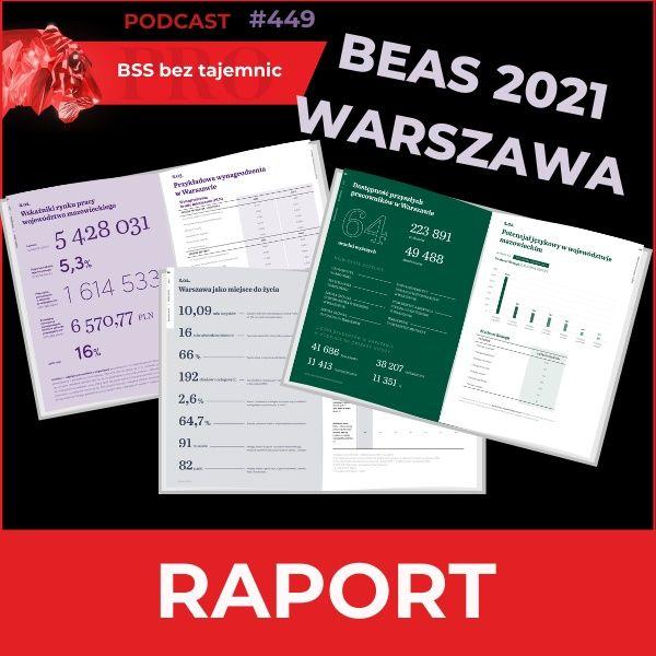 #449 BEAS 2021 Warszawa, czyli potencjał inwestycyjny stolicy Polski