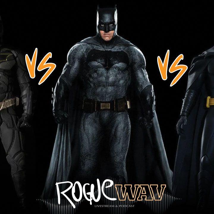 Ep 17: Best Batman Debate: Affleck vs Keaton vs Bale, Doom Patrol S1+2 Review