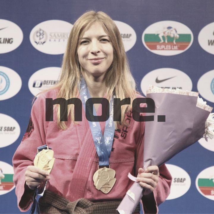"""more. than training ep. 22 - Zofia Szawernowska """"Wchodząc na trening wyobrażam sobie, że są zawody."""""""