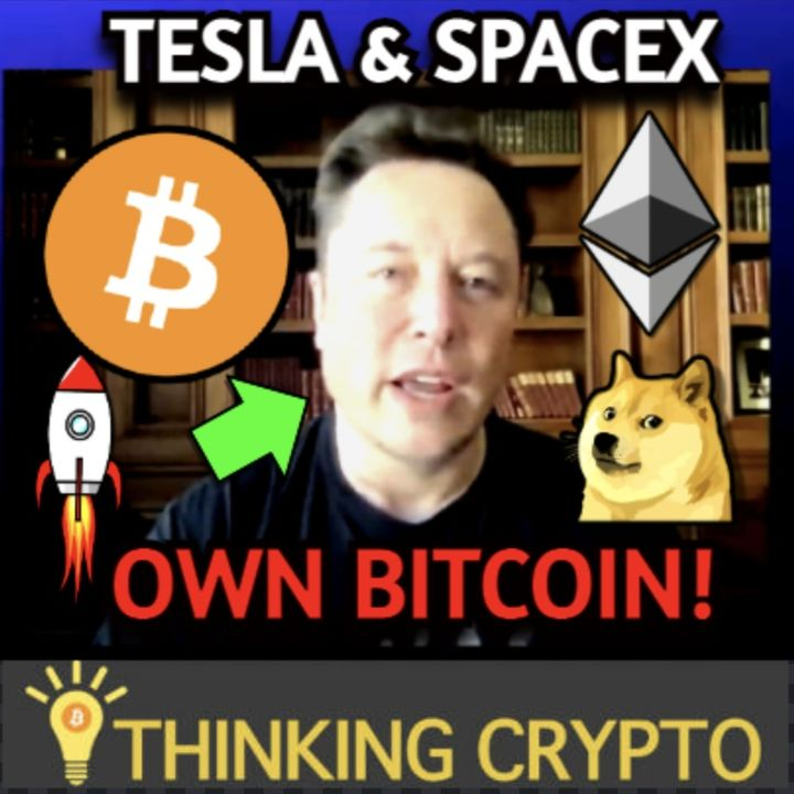 SpaceX & Tesla Own Bitcoin Says Elon Musk - Family Offices Buy Crypto - Bitcoin Miners Going Public