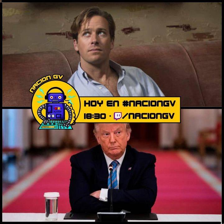 Trump en las ultimas y Armie Hammer canibal!   17 de enero