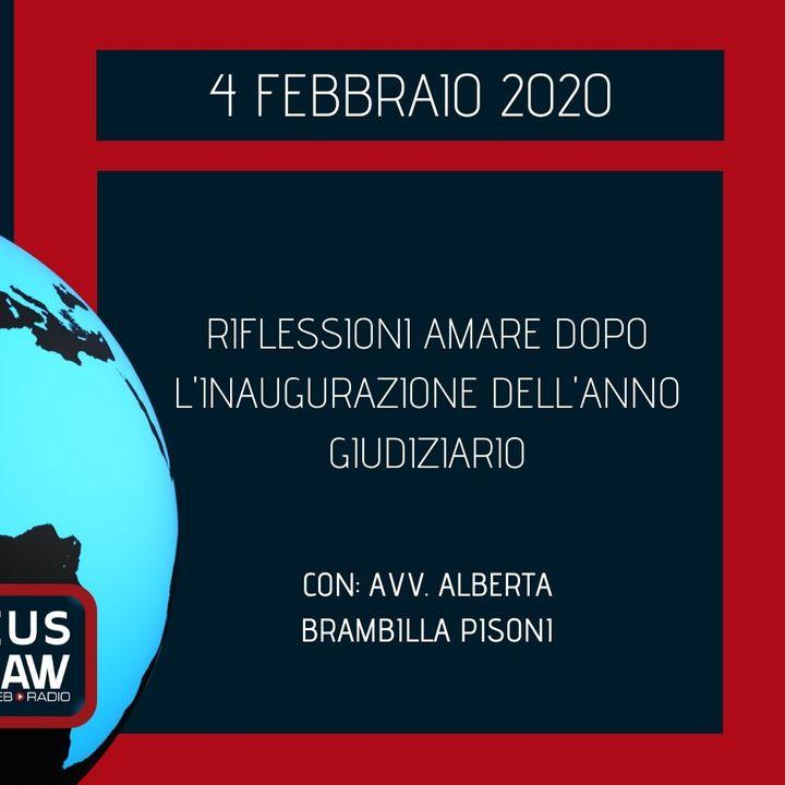 BREAKING NEWS – RIFLESSIONI AMARE DOPO L'INAUGURAZIONE DELL'ANNO GIUDIZIARIO – AVV. ALBERTA BRAMBILLA PISONI
