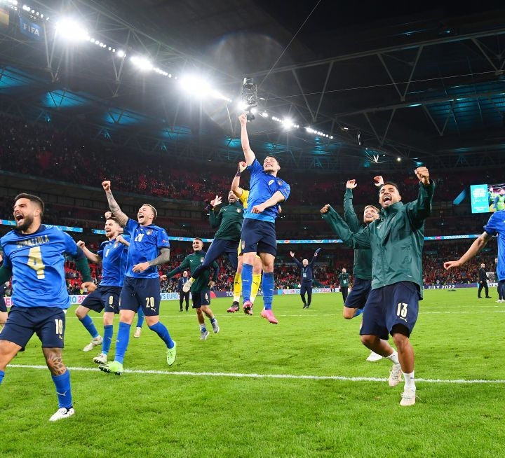 ITALY ARE THE CHAMPIONS OF EUROPE - Live broadcast for Episode 110