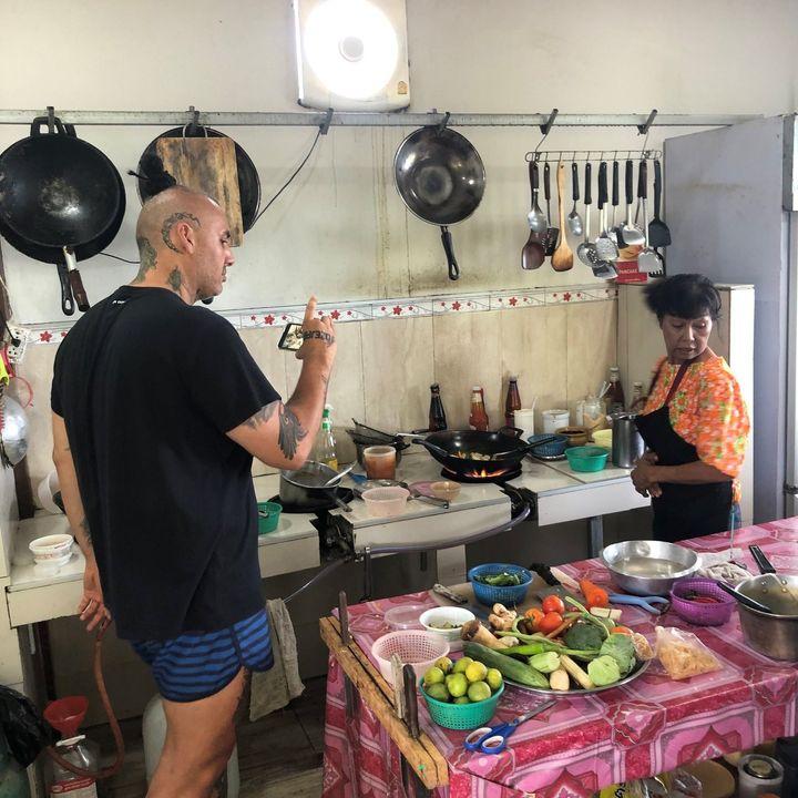 Ešus 21/6/2021: Petr a cesty za jídlem jihovýchodní Asií