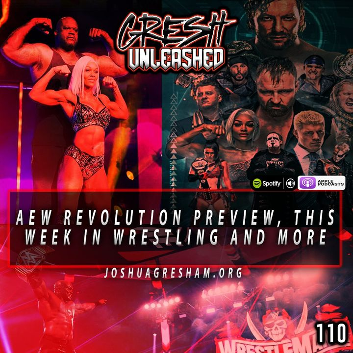 AEW Revolution 2021 Preview and Predictions, This Week In Wrestling and more | 110