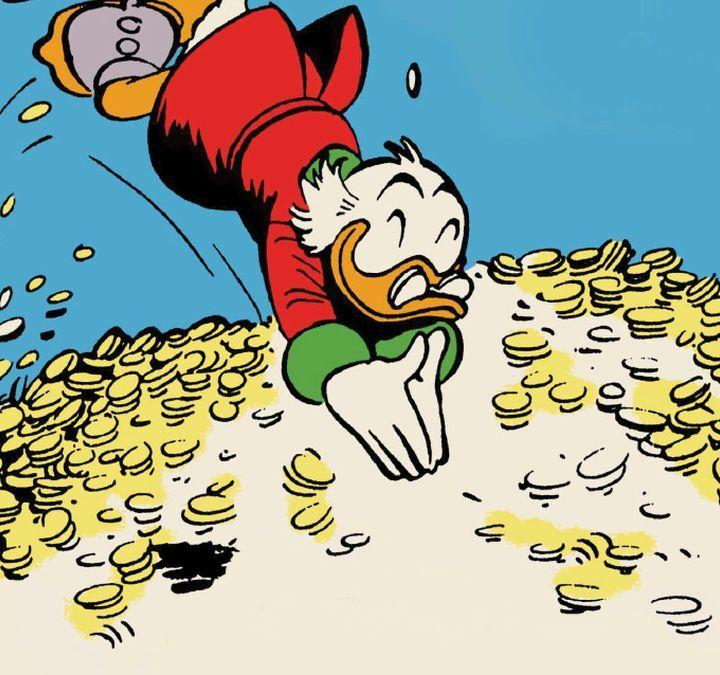 I soldi non fanno la felicità e bla bla bla.