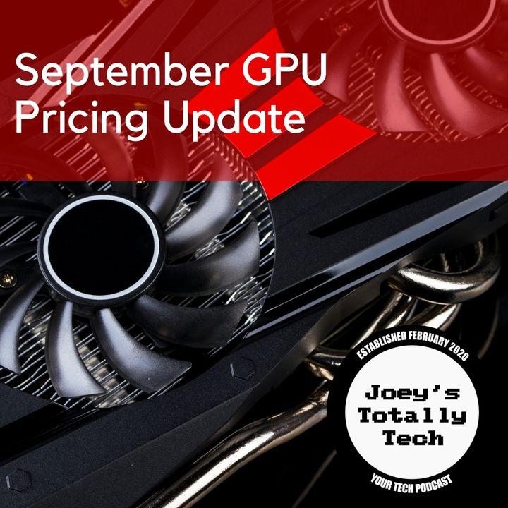 September GPU Pricing Update