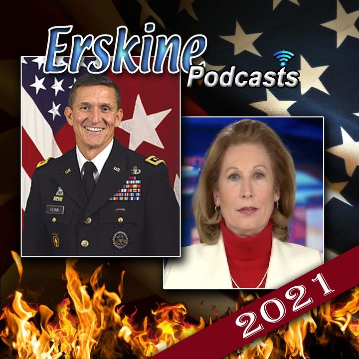 LTG Michael Flynn & Sidney Powell together on the election, censorship and more (ep#2-27-21)