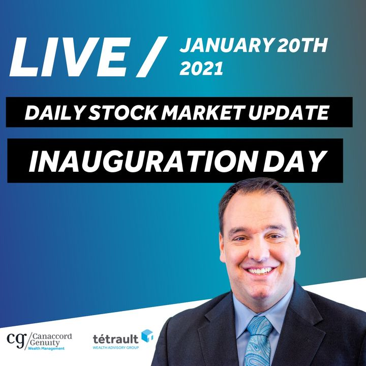 Daily Stock Market Update  - Inauguration Day