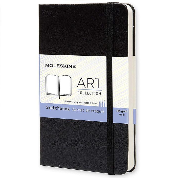 Moleskine Art Plus Sketchbook: Using, Quality of Paper, Pros & Cons