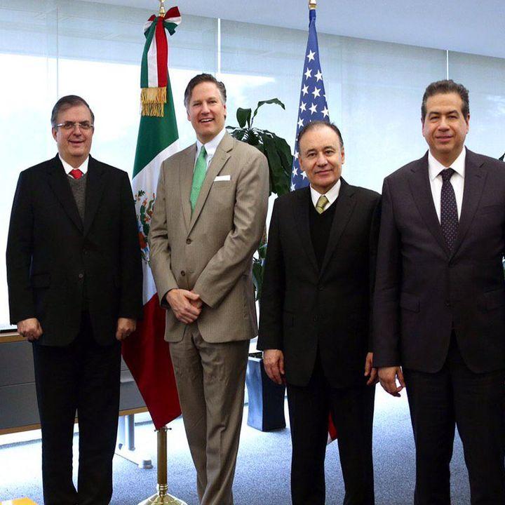 Seguridad y combate al tráfico de armas tema de reunión de cónsules: Ebrard
