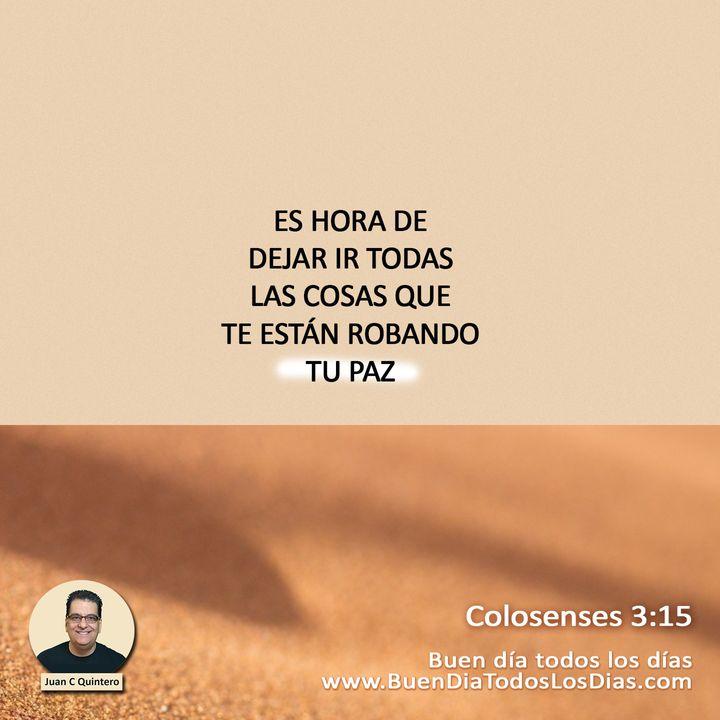 Del caos en la mente a la Paz de Cristo
