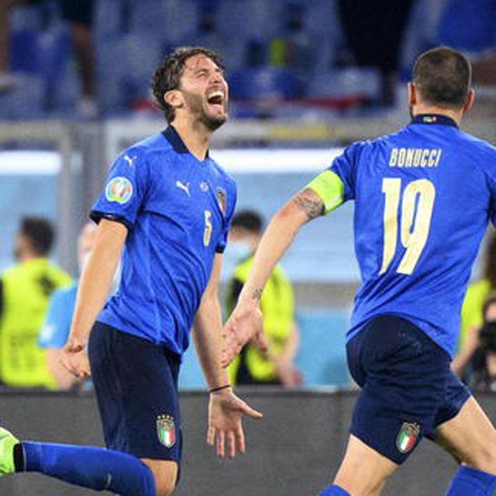 L'Italia di Mancini gia' agli ottavi, messaggio all'Europa