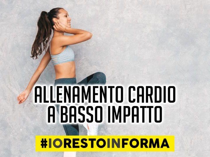 #iorestoinforma: Marco Caggiati ci introduce l'allenamento cardio a basso impatto