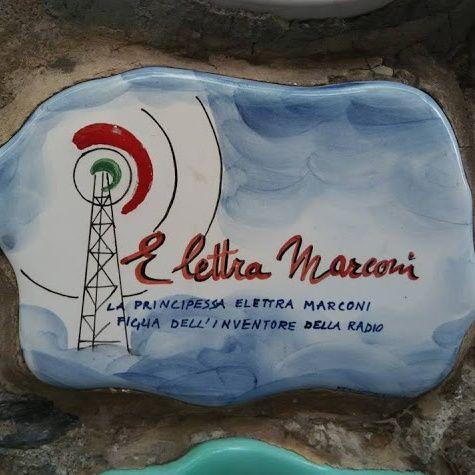 La radioamatrice Elettra Marconi