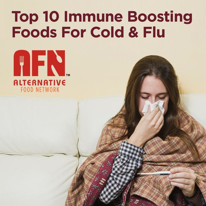 Top10 Immune Boosting Foods For Cold & Flu