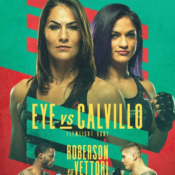 Preview Of The Main Card Of UFCApex Headlined By Jessica Eye - Cynthia Calvillo In A Huge Flyweight Fight Live On ESPN