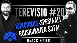 #20 Ruiskukkien sota! - Kokoomus-spesiaali   feat. Sebastian Stenfors
