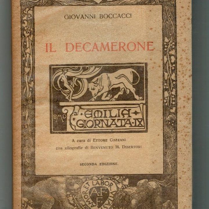 Decameron LIVE - Messer Gentile Carisendi + EPILOGO