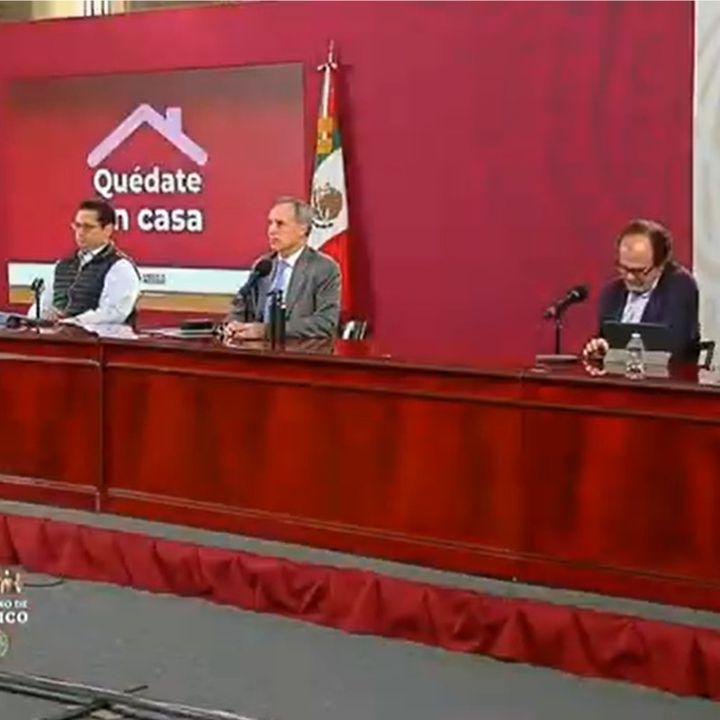 En México, suman 41 mil 908 decesos por Covid-19