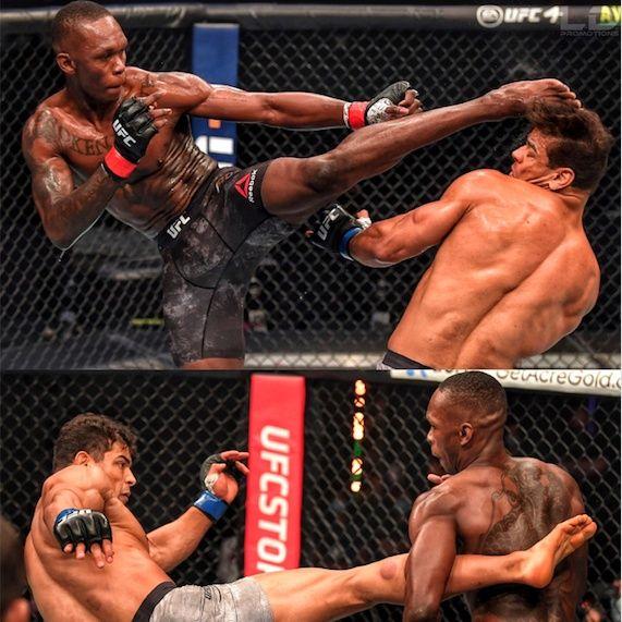 UFC 253, Adesanya vs Costa