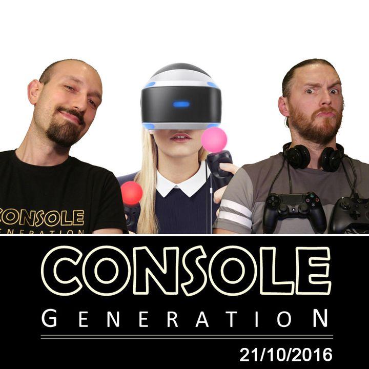 Speciale PS VR, Nintendo Switch e altro! - CG Live 21/10/2016