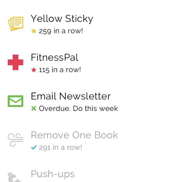 004 : Ridiculously small daily goals