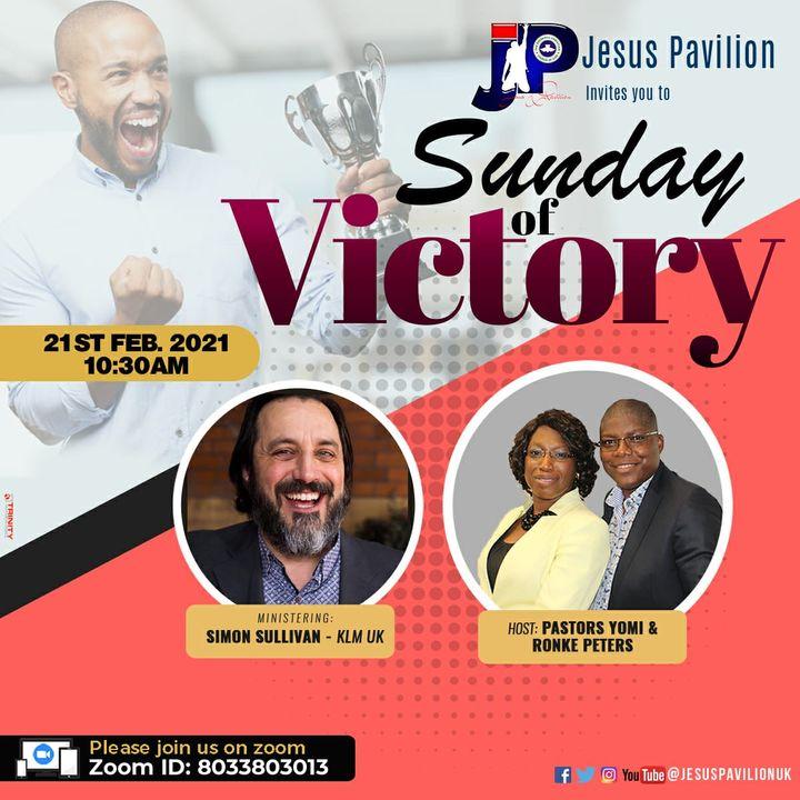 Shout of Victory -21/02/21 Prophetic Sunday - SIMON SULLIVAN