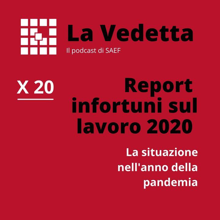 Report infortuni sul lavoro 2020.