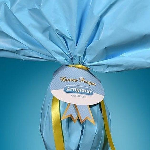 Pasqua 2021: caseificio di Putignano veste il caciocavallo come un uovo di cioccolato