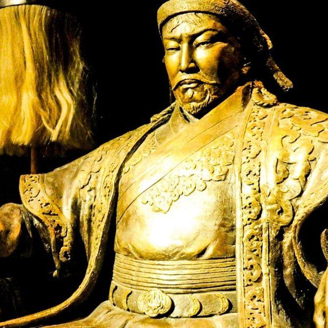 L'onore per Genghis Khan