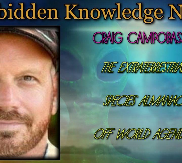The Extraterrestrial Species Almanac/Off World Agendas with Craig Campobasso