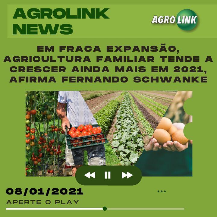 Agrolink News - Destaques do dia 08 de janeiro