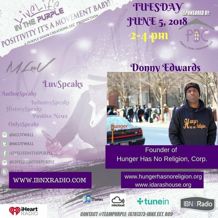 """MLuv On Site with """"Hunger Has No Religion"""" - Interview with Donny Edwards - founder"""