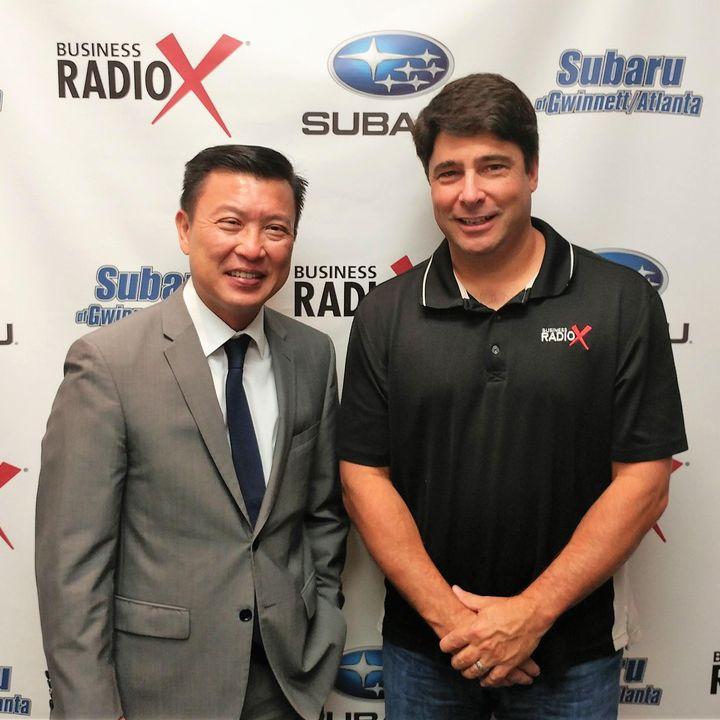 Li Wong with Partnership Gwinnett