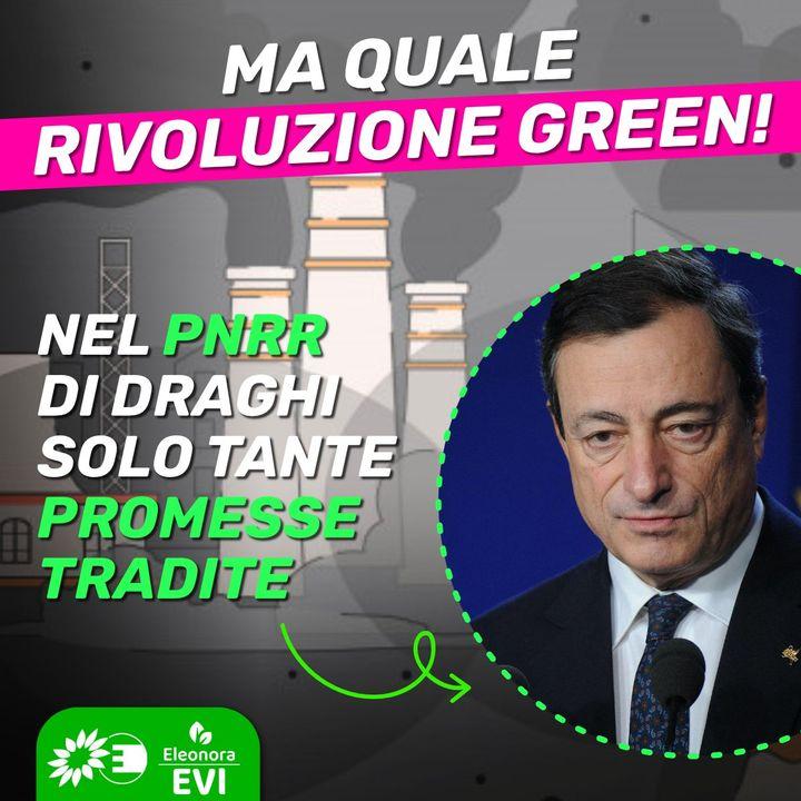 Recovery Plan e PNRR. Eleonora Evi su economia circolare, trivelle, idrogeno, stoccaggio CO2.