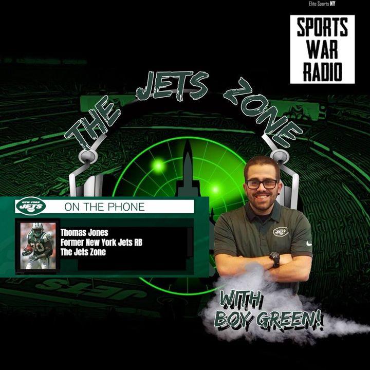 The Jets Zone: Thomas Jones interview