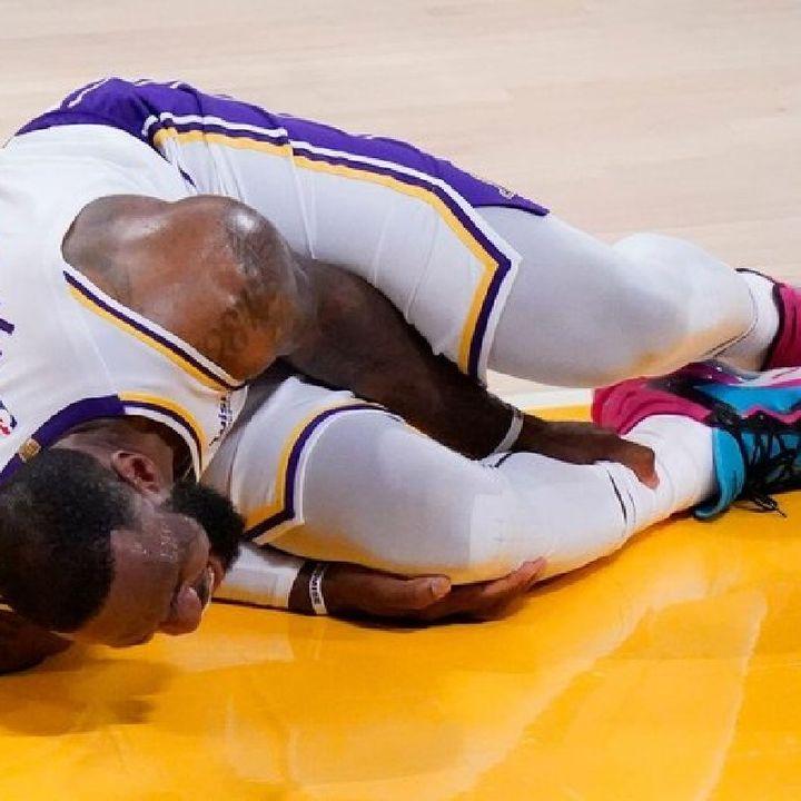 #lebronjames Injured High ANKLE Sprain  ■#LAKERS Losing Streak & #NBA Free Agency   #realsportstimewithDMarl #nba #freeagency #lakers