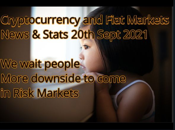 Cryptocurrency & Financial Markets 20th July 2021P