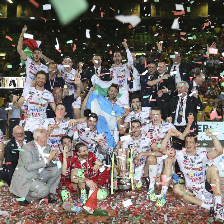 Da Radio Dolomiti: ultimi punti Finale Scudetto 2015 - Modena-Trento 0-3 a Modena